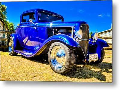 Ford Coupe Hot Rod Metal Print by motography aka Phil Clark