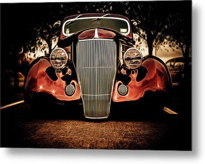 Ford Coupe Hotrod Metal Print by motography aka Phil Clark