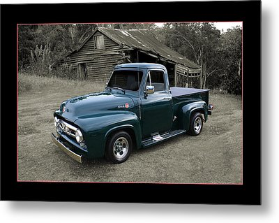 Metal Print featuring the photograph Ford F100 by Keith Hawley