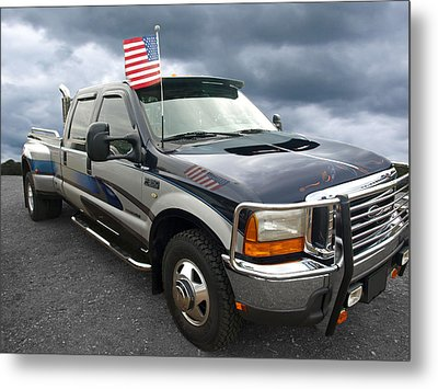 Ford F350 Super Duty Truck Metal Print