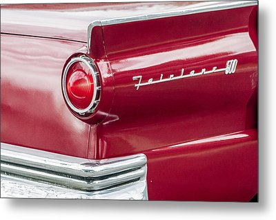 Metal Print featuring the photograph Ford Fairlane by Dawn Romine