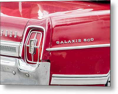 Metal Print featuring the photograph Ford Galaxie  by Dawn Romine