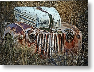 Ford Gets A Facelift Metal Print