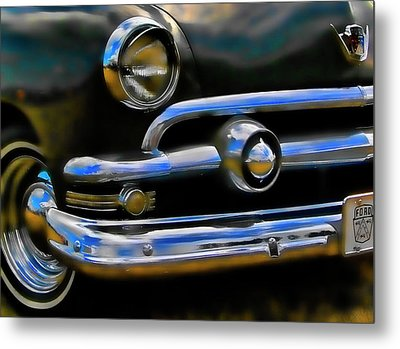 Metal Print featuring the photograph Ford Hot Rod by Ron Roberts