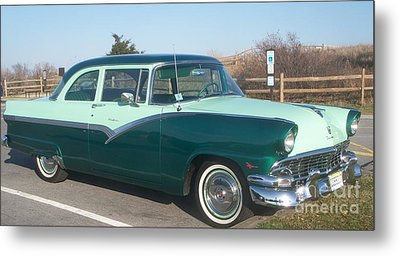 Ford Mercury Metal Print by Eric  Schiabor
