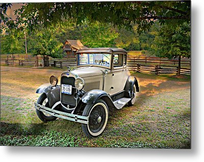 Ford Model A 2 Metal Print
