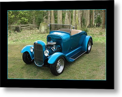Metal Print featuring the photograph Ford Roadster by Keith Hawley