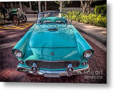 Ford Thunderbird  Metal Print by Adrian Evans