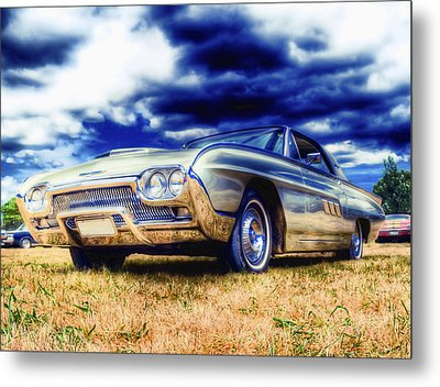Ford Thunderbird Hdr Metal Print by Phil 'motography' Clark