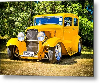 Ford Tudor Hot Rod Metal Print by motography aka Phil Clark