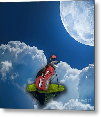 Fore Metal Print by Marvin Blaine