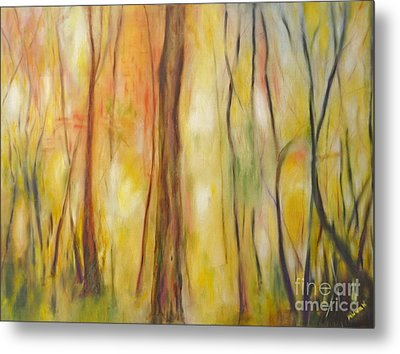 Forest Awakening Metal Print