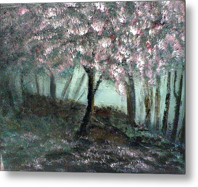 Forest Beauty Metal Print by J L Zarek