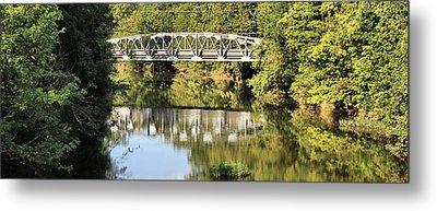 Forest Bridge Metal Print by Dan Sproul