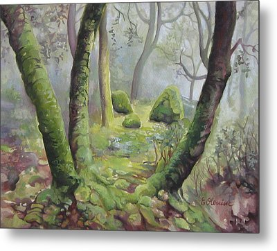 Forest Metal Print by Elena Oleniuc