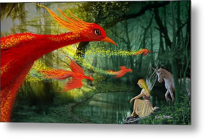 Forest Fantasy 1 Metal Print