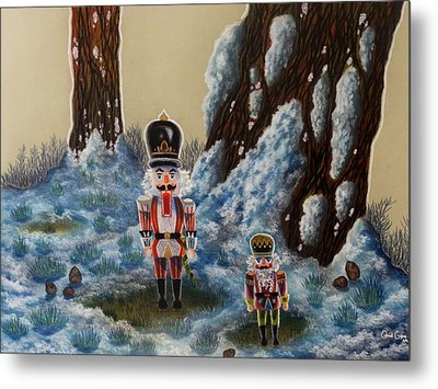 Forest Guardians Metal Print