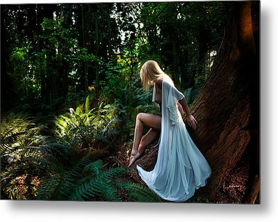 Forest Nymph 2 Metal Print by Dario Infini