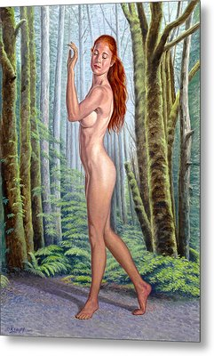 Forest Nymph Metal Print by Paul Krapf
