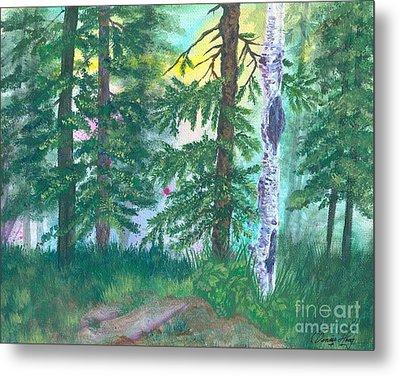 Forest Of Memories Metal Print by Denise Hoag