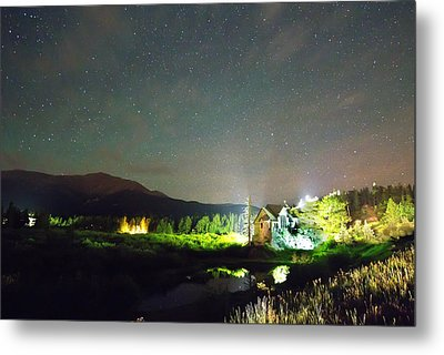 Forest Of Stars Above The Chapel On The Rock Metal Print by James BO  Insogna