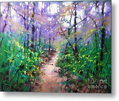 Forest Of Summer Metal Print