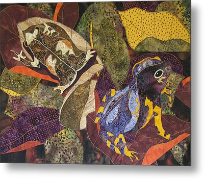 Forest Toads Metal Print