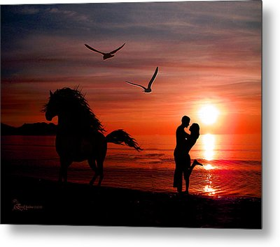 Forever And A Day Metal Print by EricaMaxine  Price
