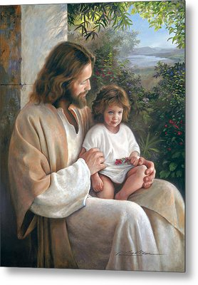 Forever And Ever Metal Print by Greg Olsen