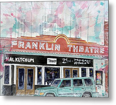 Forever Franklin Metal Print by Tim Ross