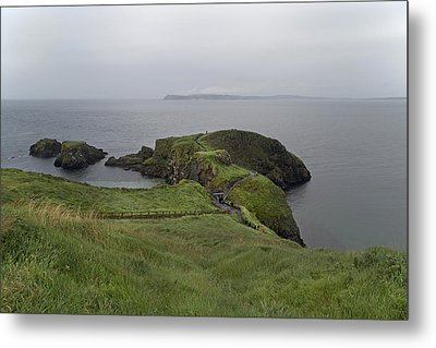 Forever Green Carrick-a-rede Northern Ireland Metal Print