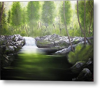 Forever Green Metal Print by Kevin F Heuman