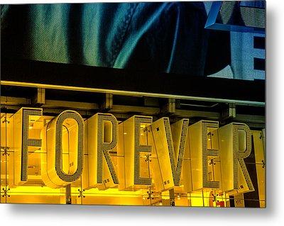 Forever Metal Print by Karol Livote