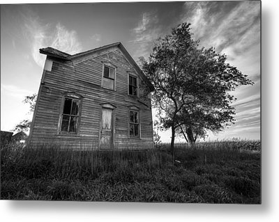 Forgotten Metal Print by Aaron J Groen