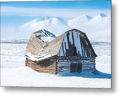 Forgotten Metal Print by Carl Amoth
