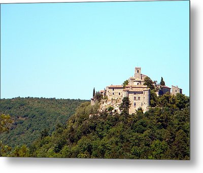 Forgotten Chateau Metal Print by Manuela Constantin