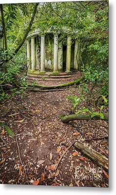 Forgotten Folly Metal Print by Adrian Evans