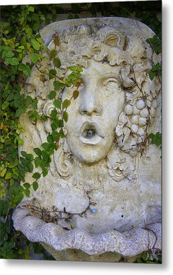 Forgotten Garden Metal Print by Laurie Perry