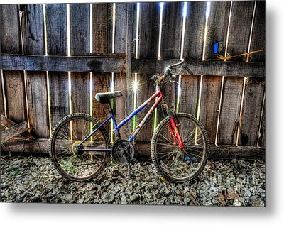 Forgotten Replaced By New Set Of Wheels Metal Print by Dan Friend