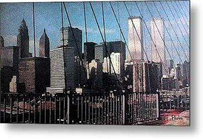 Forgotten View Metal Print by George Pedro