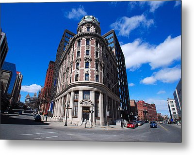 Metal Print featuring the photograph Fork Albany N Y by John Schneider