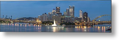 Forks Of The Ohio Metal Print by Jennifer Grover