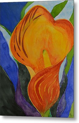 Form Metal Print by Beverley Harper Tinsley