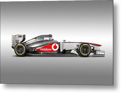 Formula 1 Mclaren Mp4-28 2013 Metal Print