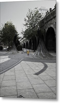 Forster Square Metal Print by Riley Handforth