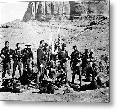 Fort Apache  Metal Print by Silver Screen