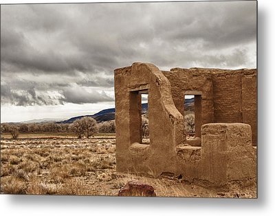 Metal Print featuring the photograph Fort Churchill Nevada by Janis Knight