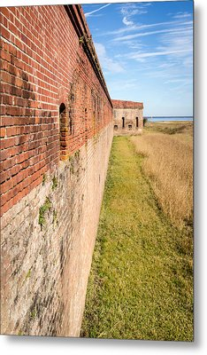 Fort Clinch Metal Print by Wade Brooks