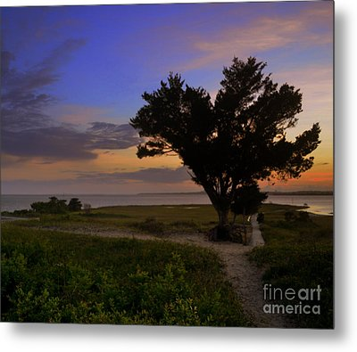 Fort Fisher Sunset  Metal Print