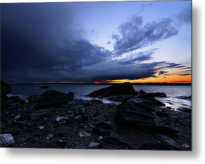 Fort Getty Metal Print by Lourry Legarde